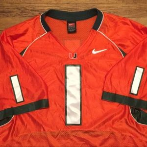 Miami Hurricanes Football Jersey